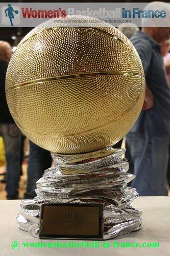 LF2 MVP Trophy © womensbasketball-in-france.com