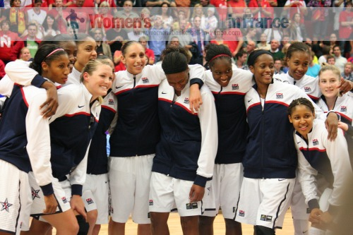 2010 FIBA World Champions for Women  © womensbasketball-in-france.com