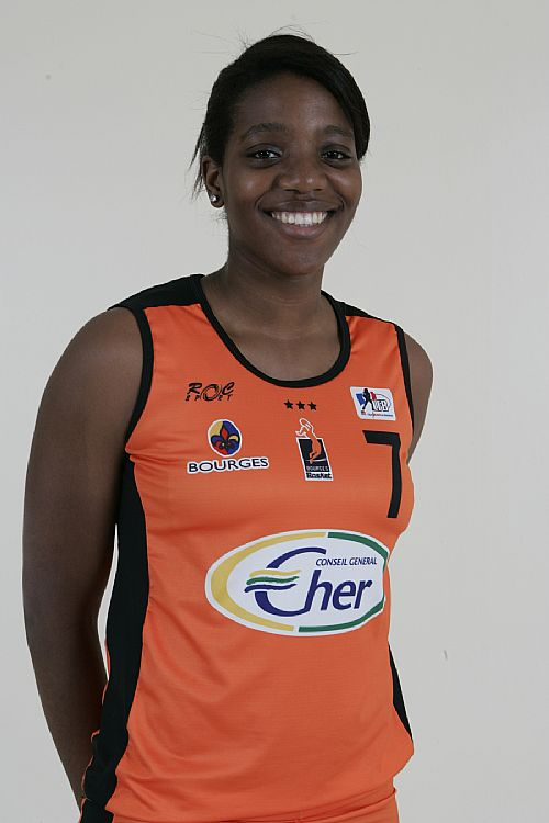 Nwal Endéné Miyem Bourges Basket © Ligue Féminine de BasketBall