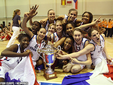 Termosteps 2007 U16 Champions: France