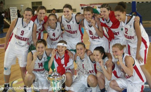 Hungary return to Division A © womensbasketball-in-france.com