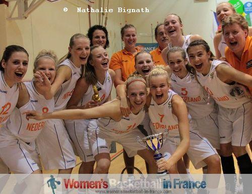 2011 Third place: Netherlands U16 in Poinçonnet © Nathalie Bignath