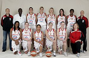 Villeneuve D'Ascq team picture ©LFB