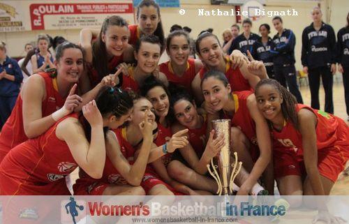 2011 Winners: Spain U16 in Poinçonnet © Nathalie Bignath