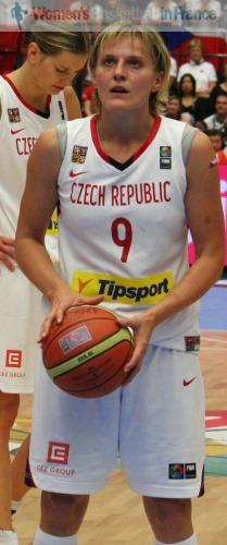 Hana Horáková at the FIBA World Championship for Women  © womensbasketball-in-france.com