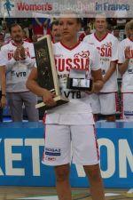 Elena Danilochkina 2011 Eurobasket Women MVP © womensbasketball-in-france.com