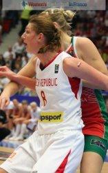 Ilona Burgrová at the FIBA  World Championship Women  © womensbasketball-in-france.com
