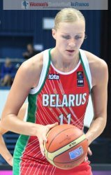 Yelena Leuchanka on the free throw line  at the 2010 FIBA World Championships  © womensbasketball-in-france.com