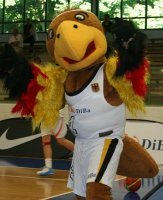 Germany team mascot  ©  Womensbasketball-in-france.com