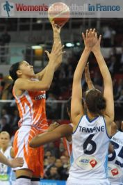 Candace Parker in full flight