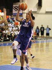 Margaux Okou Zouzouo playing basketball for France U18 © FIBA Europe