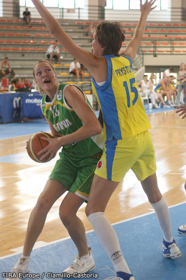 Gintare Petronyte © FIBA Europe
