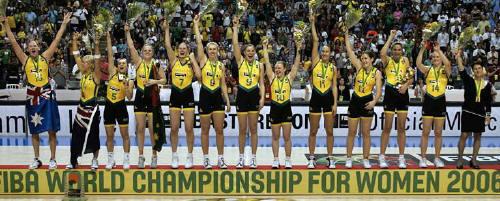 Australia 2006 FIBA World Champions © FIBA