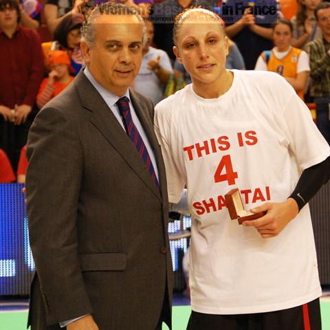 Diana Taurasi EuroLeague Women 2010 MVP © Miguel Bordoy Cano-womensbasketball-in-france.com