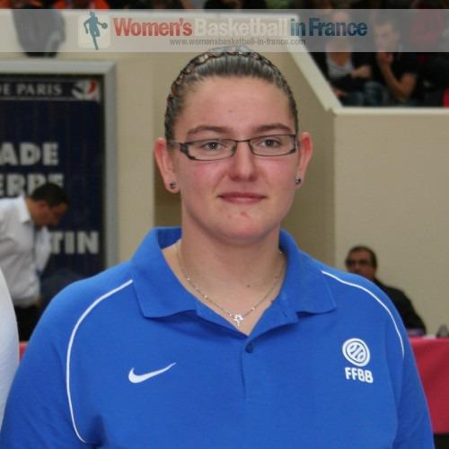 Eleonore Grossemy  © womensbasketball-in-france.com
