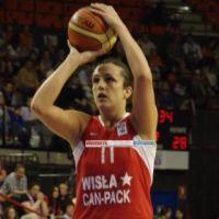 Ewelina Kobryn at 2010 EuroLeague Women final four © Miguel Bordoy Cano-womensbasketball-in-france.com