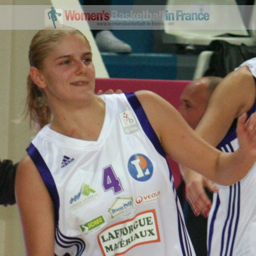 Jelena Dublejevic © womensbasketball-in-france.com