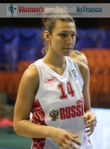 Alexandra Tarasova 2011  © womensbasketball-in-france.com