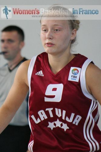 Asnate Fomina  © womensbasketball-in-france.com