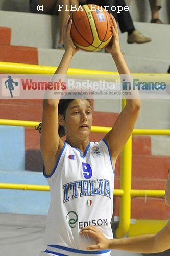 Cecilia Zandalasini   © FIBA EUROPE / Michele Gregolin