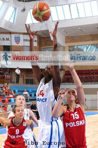 Christelle Diallo © FIBA Europe / Viktor Rébay