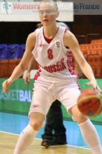 Evgeniya Finogentova 2011  © womensbasketball-in-france.com