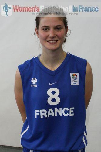 Isabelle Strunc 2011  © womensbasketball-in-france.com