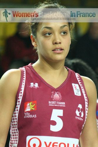 Leilani Mitchel © womensbasketball-in-france.com