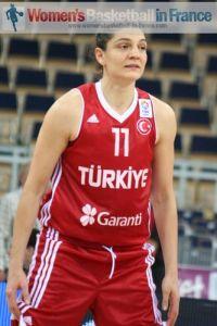 Nevriye Yilmaz at EuroBasket Women 2011 © womensbasketball-in-france.com