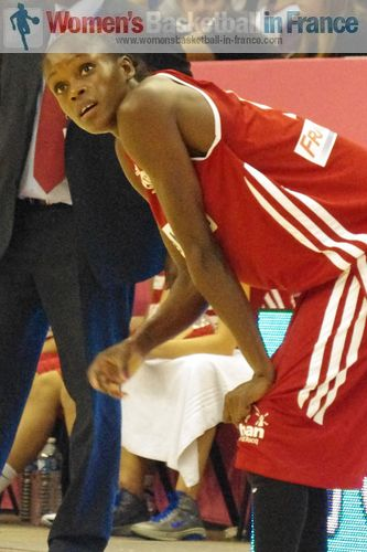 Emilie Gomis ©  womensbasketball-in-france.com