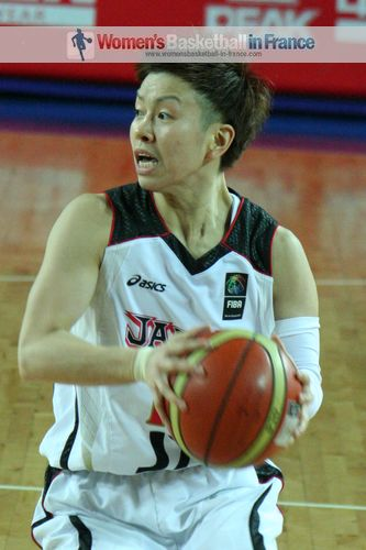 Yuko Oga ©  womensbasketball-in-france.com