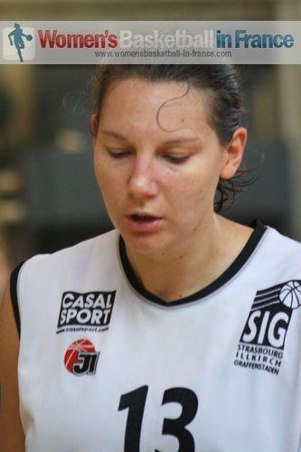 Caroline Nestor  ©  womensbasketball-in-france.com