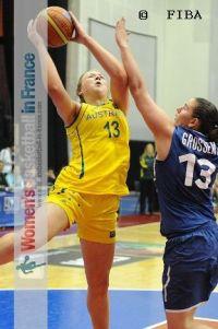 Tayla Roberts © FIBA
