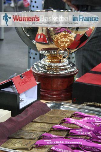 EuroBasket Women winners trophy