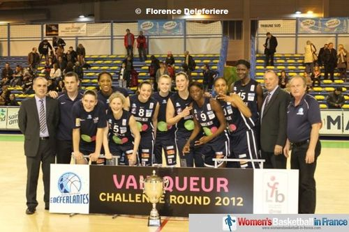 2012 LFB Challenge Round Winner - Nantes-Rezé  © Florence Deleferiere