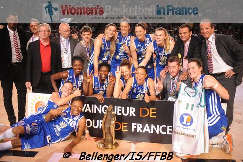 Lattes Montpellier 2013 French Cup Winners
