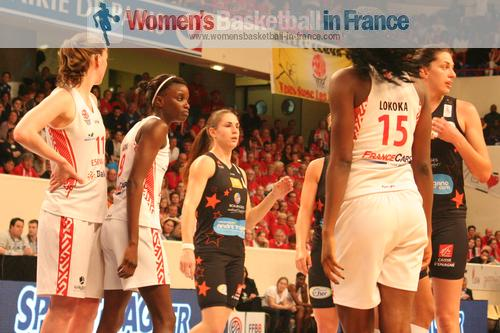 Tango Bourges Basket vs Villeneuve d;Ascq  2014 basketball French Cup Final