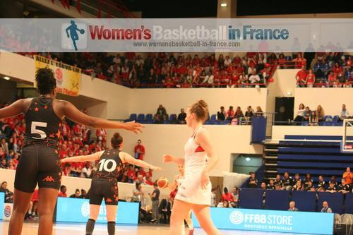 2014 U17 French cup final - Bourges Basket vs. Lyon BF