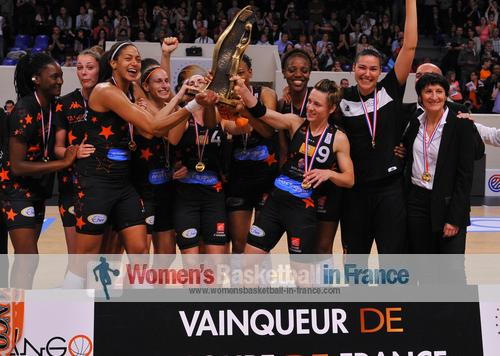 2014 Coupe de France winners - Bourges Basket