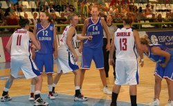 Great Britain playing the Slovak Republic in Kavadarci (2) © womensbasketball-in-france.com
