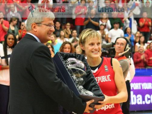 Hana Horákova  © womenbasketball-in-france