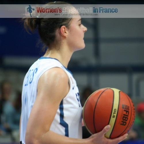 Clémence Beikes  © womensbasketball-in-france.com