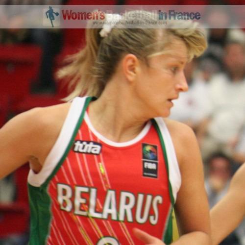Natallia Anufryienka  © womensbasketball-in-france