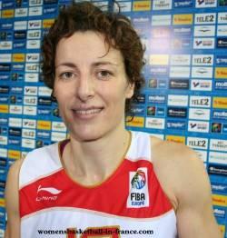 Elisa Aguilar at EuroBasket Women 2009 © womensbasketball-in-france.com