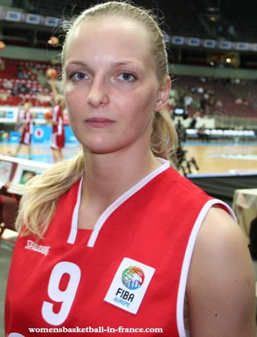 Agnieszka Bibrzycka at EuroBasket Women 2009 © womensbasketball-in-france.com