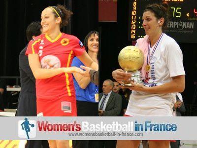 Clémentine Samson and Héléna Ciak © womensbasketball-in-france.com