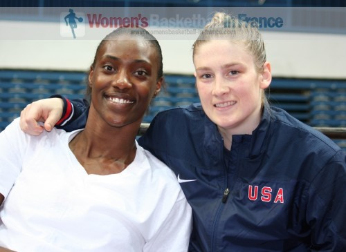 Sylvia Fowles and Lindsay Whalen