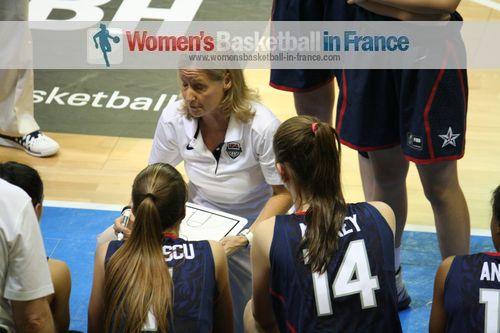 Sue Philips USA U 17 Coach