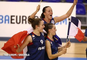 France U16 women won Bronze in 2008  © FIBA Europe