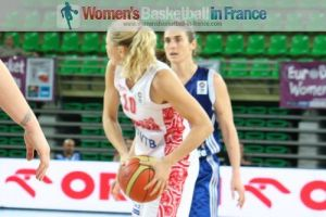 Illona Korstin and Nathalie Stafford © womensbasketball-in-france.com